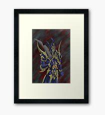 Yu-Gi-Oh: Black Luster Soldier Framed Print
