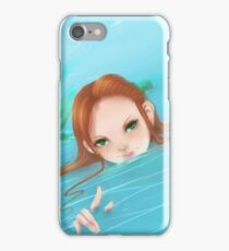 Come to the depths with me iPhone Case/Skin