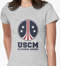 United States Colonial Marines - USCM Womens Fitted T-Shirt