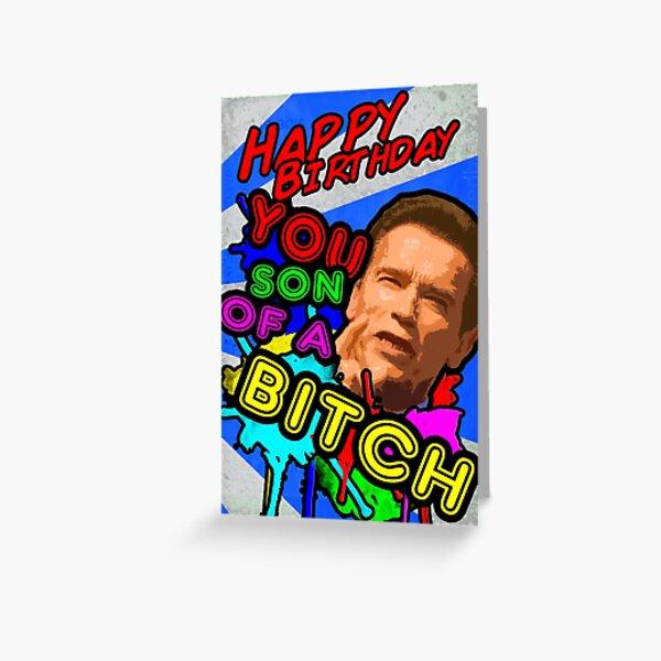 Arnie's Birthday Message! Greeting Card