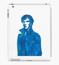 Sherlock Blue Vector Graphic iPad Case/Skin