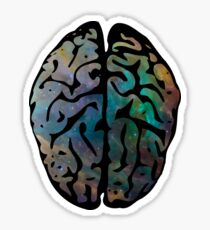 Universal brain Sticker