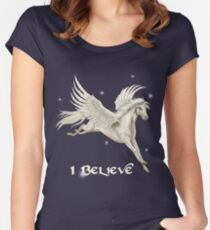 Flying Pegasus Women's Fitted Scoop T-Shirt