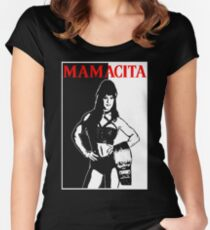 Mamacita Chyna Scarface Tribute Women's Fitted Scoop T-Shirt