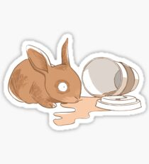Coffy Rabbit Sticker