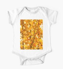Autumn Leaves  One Piece - Short Sleeve