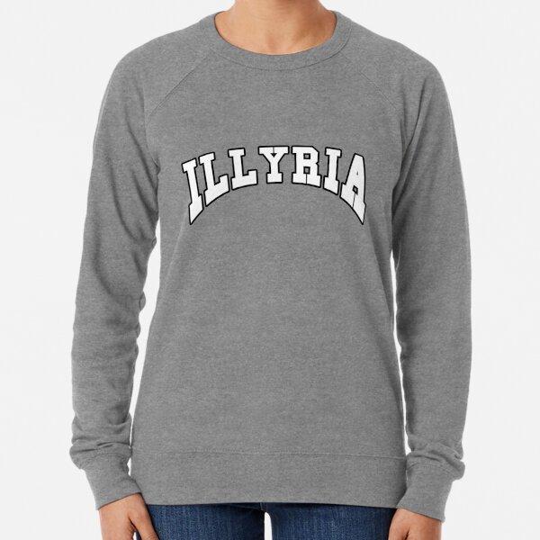 Illyria Logo Ella es el hombre Sudadera ligera