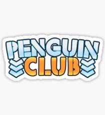 Penguin Club Sticker