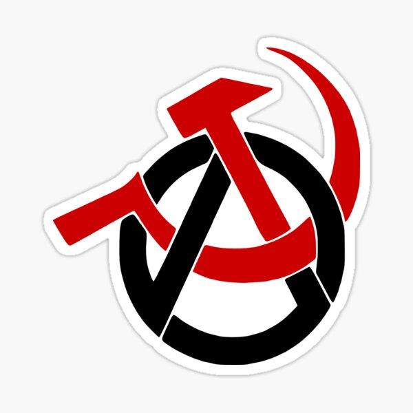 Comunismo de Anarcho Pegatina