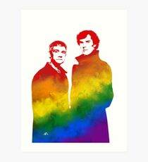 Johnlock Art Print