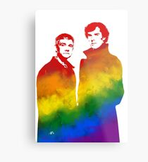 Johnlock Metal Print