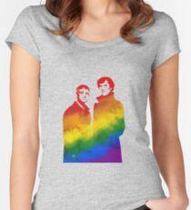 Johnlock Women's Fitted Scoop T-Shirt