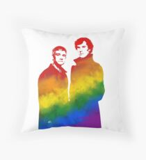 Johnlock Throw Pillow