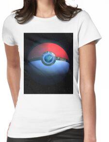 Pokemon World Womens Fitted T-Shirt