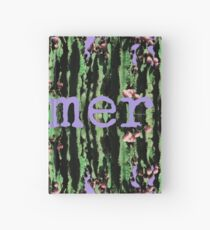 Cacti Summer Reflections Typography  Hardcover Journal