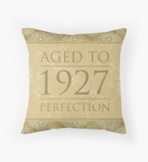 Fancy 1927  Throw Pillow