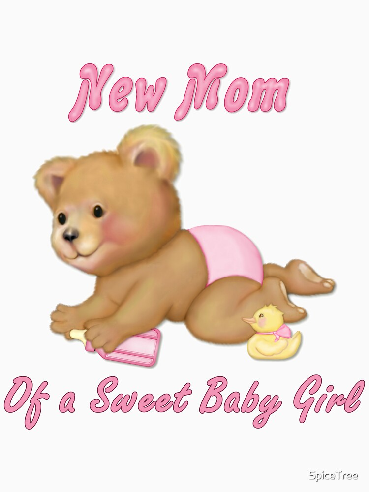 Crawling Teddy - New Mom of Girl by SpiceTree