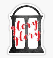 glory glory arch Sticker