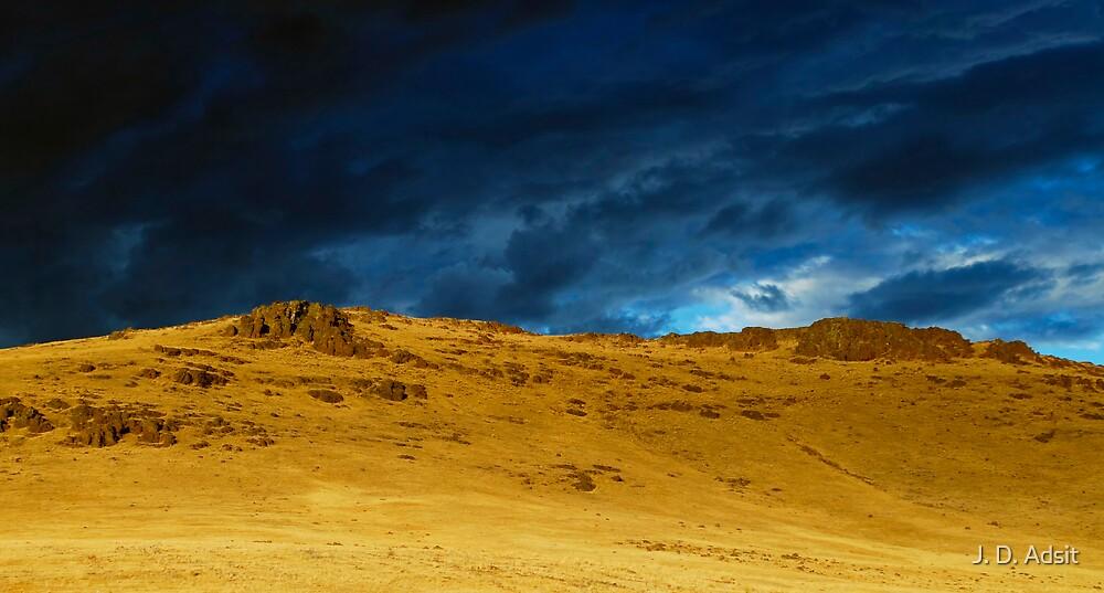 The Backside of a Desert Sunset by J. D. Adsit