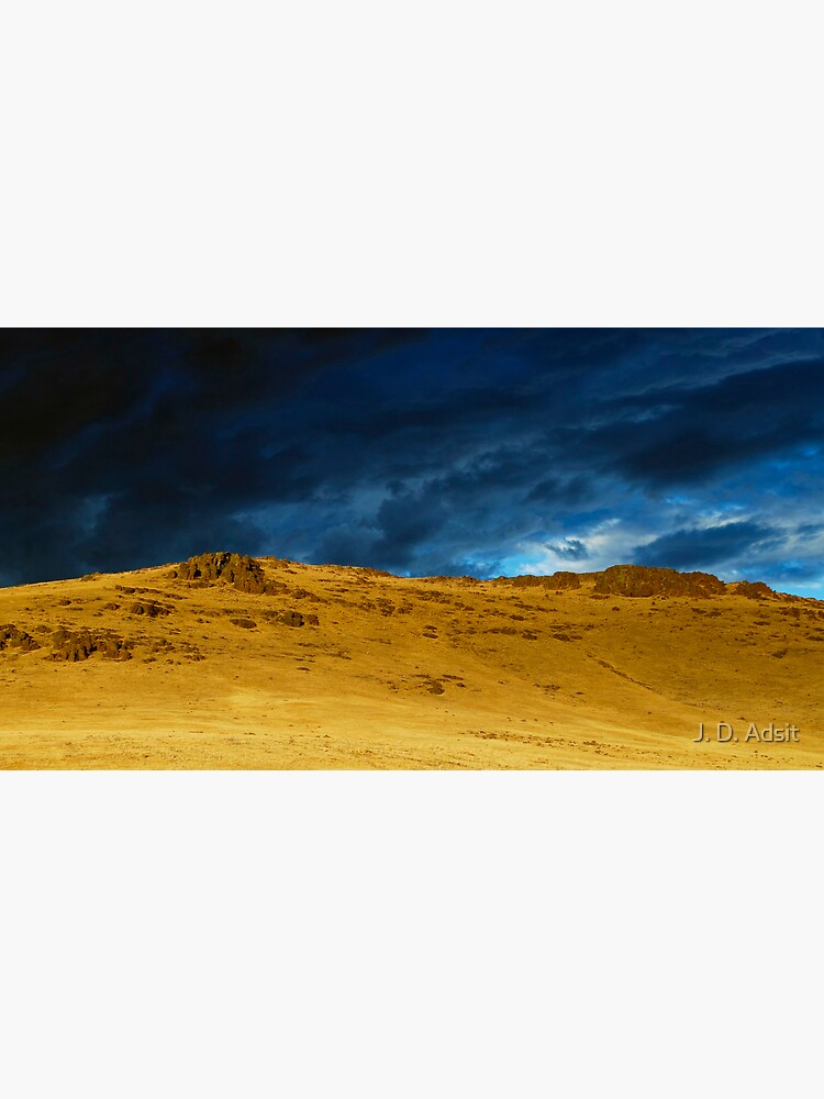 The Backside of a Desert Sunset by adsitprojectpro