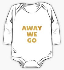 Away We Go in Bold Gold One Piece - Long Sleeve