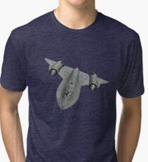 SR71 Blackbird aircraft Tri-blend T-Shirt