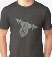 SR71 Blackbird aircraft Unisex T-Shirt
