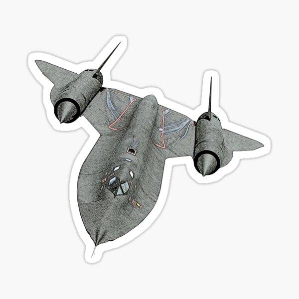 SR71 Blackbird aircraft Sticker