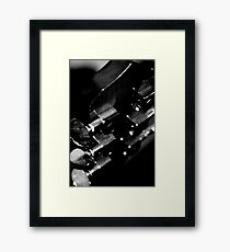 Tune up..... Framed Print