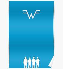 Weezer - Blue Album Poster