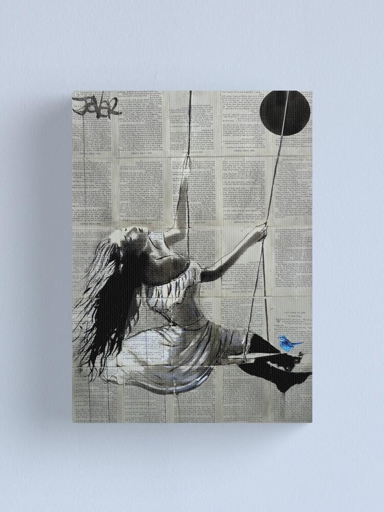 Alternate view of swing Canvas Print