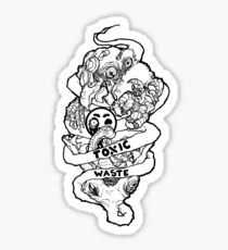 TOXIC WASTE Sticker
