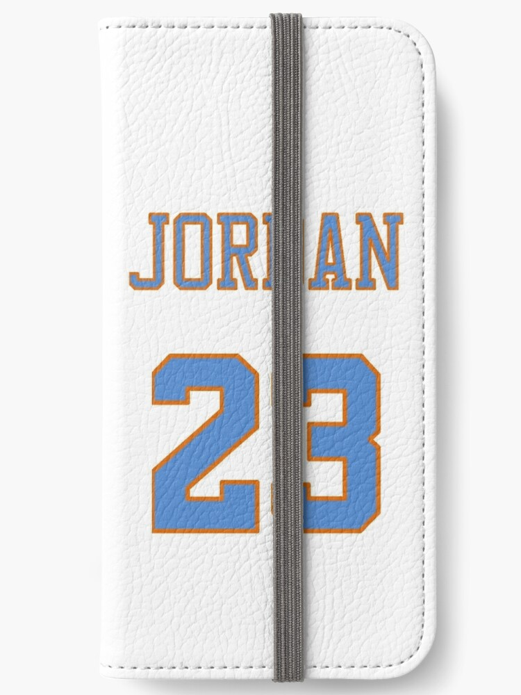 new arrival d6a74 4676e 'Michael Jordan 23 Space Jam Tune Squad Looney Tunes Jersey Case' iPhone  Wallet by Shaun Tayaba