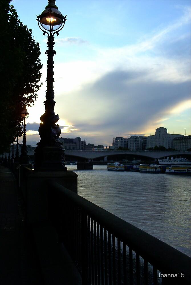 London Sunset by Joanna Jeffrees