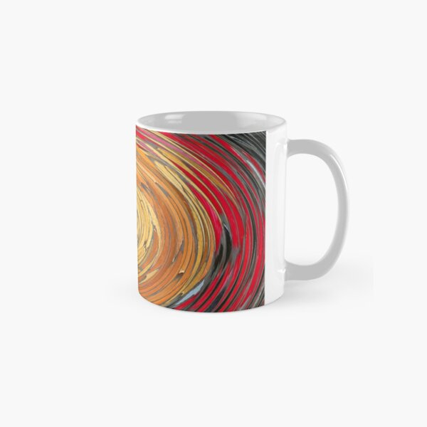 Darkness is Gathering in a Swirl Classic Mug
