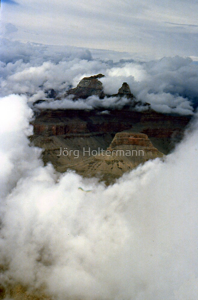 A look through the clouds by Jörg Holtermann