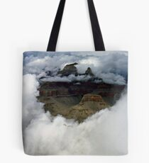 A look through the clouds Tote Bag