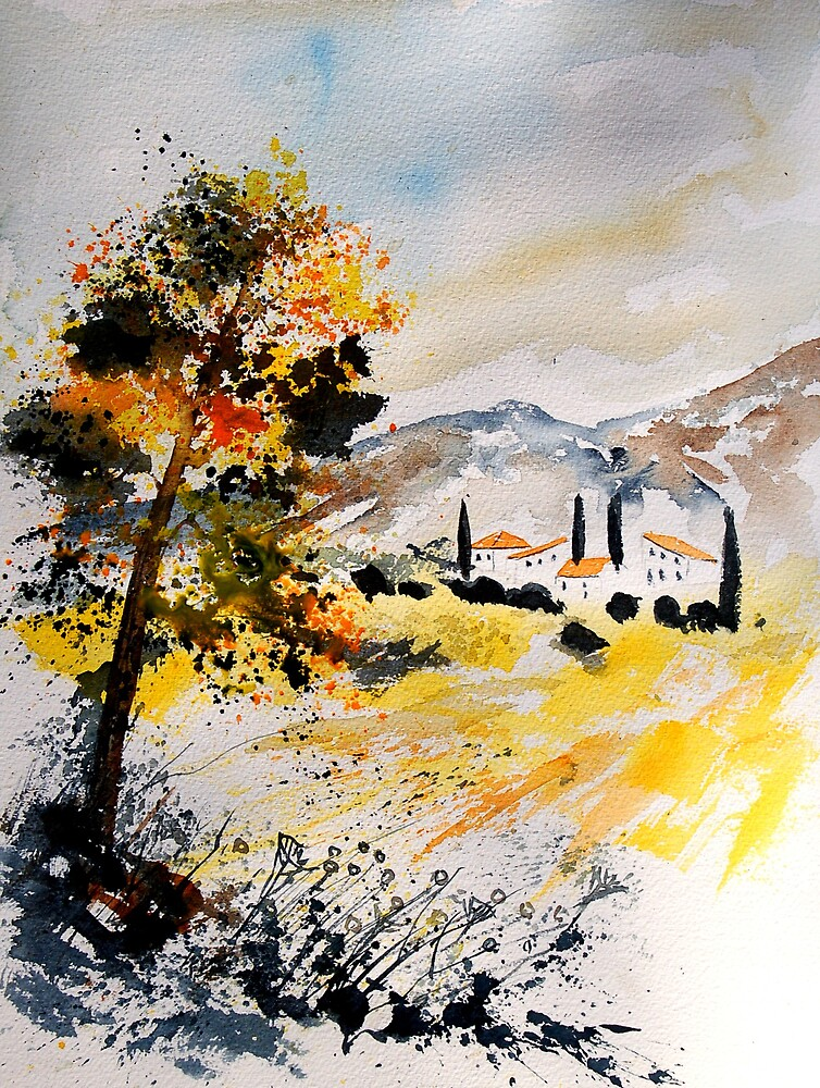 Watercolor 200207 by calimero