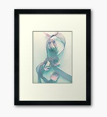 Ribbons & Roses Framed Print