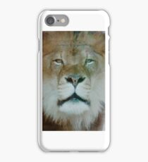 Lion King… close uP Brookfield Zoo iPhone Case/Skin