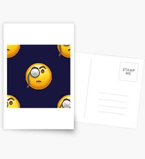 emoji monocle  Postcards