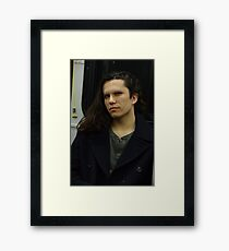 How nows no brows Framed Print