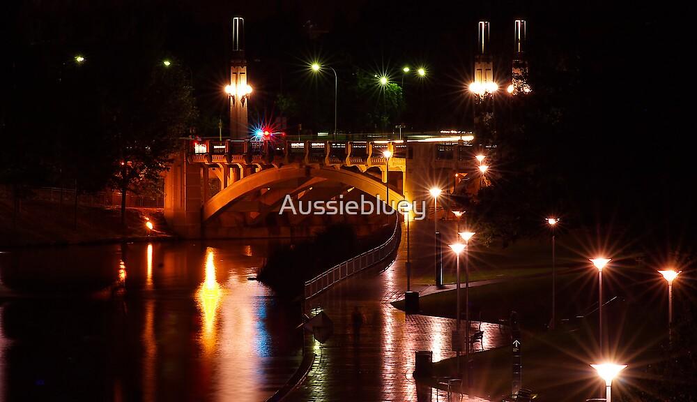 Night lights. by Aussiebluey