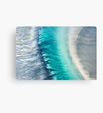 Ocean Channel Metal Print