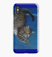 Binky in the Blue iPhone Case