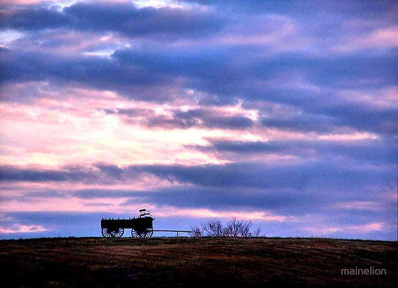 Wagon Hill by mainelion