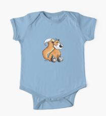 Red Fox One Piece - Short Sleeve