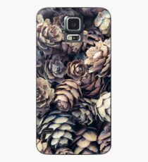 Tiny Pinecones Case/Skin for Samsung Galaxy