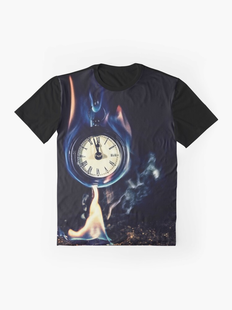 Alternate view of Three Minutes left Graphic T-Shirt