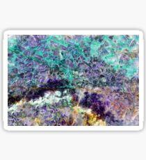 amethyst stone texture Sticker